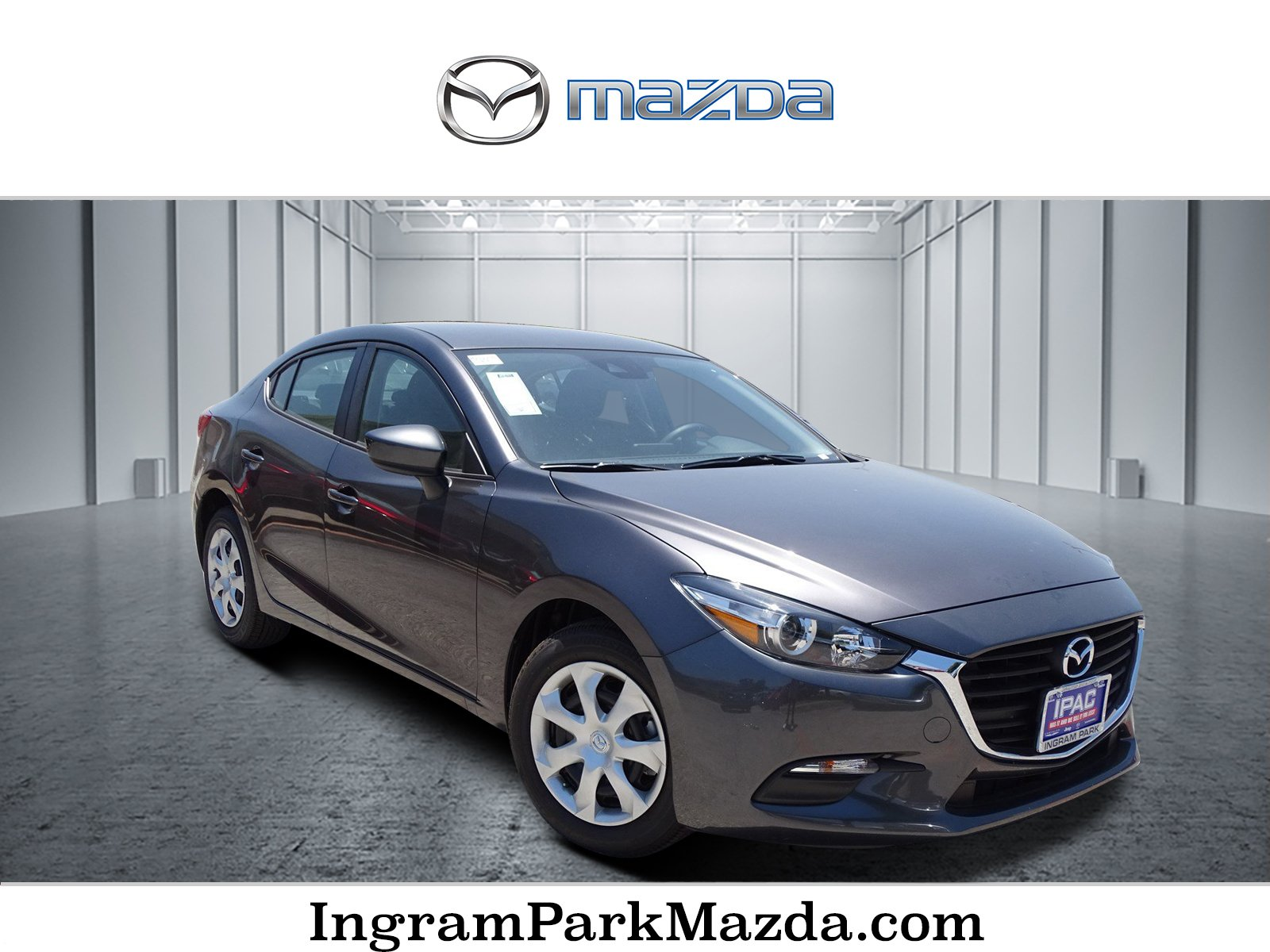 New 2018 Mazda Mazda3 4 Door Sport Sedan in San Antonio M