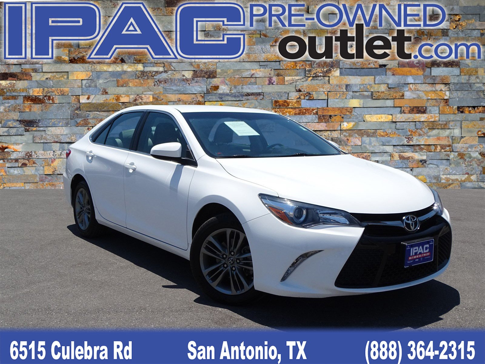 Pre Owned 2017 Toyota Camry SE Sedan in San Antonio P