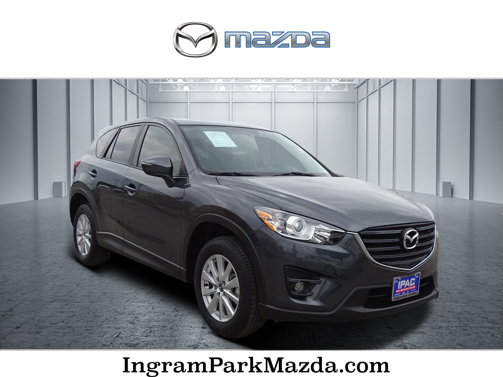 Pre-Owned 2016 Mazda CX-5 Touring With Navigation